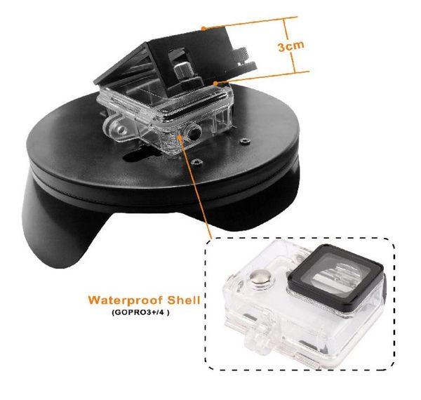 〔3699shop〕GoPro Hero 4/3+/3 DOME 魚眼潛水罩 分水鏡 半圓球  浮力棒 防水殼 水面鏡頭罩 XTG320