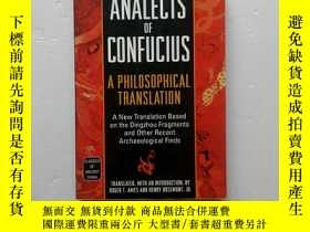 二手書博民逛書店The罕見Analects of ConfuciusY25485