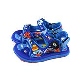 G.P(GOLD PIGEON) 涼鞋 藍色 無尾熊 中童 童鞋 G1611BB-23 no549