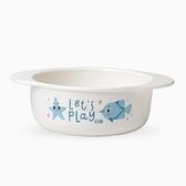 微波爐碗輔食碗 嬰兒寶寶帶手柄雙耳吃飯碗 兒童碗勺餐具套裝 童趣屋