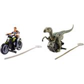 美泰兒 MATTEL 侏羅紀世界2-恐龍及人物發射組
