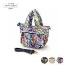 斜背手提包-日本B_Field防水、超輕空氣包/兩用包(M)-潑漆款/2色-玄衣美舖