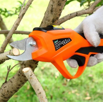 電動剪刀 電動剪刀修樹枝果樹小型家用多功能充電式園藝修花高枝省力高空剪 MKS韓菲兒