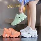 走秀歐洲站老爹鞋ins潮女2020年秋季新款網紅超火網面透氣運動鞋 「雙10特惠」