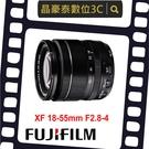 FUJIFILM XF 18-55mm F2.8-4 R LM OIS(公司貨) XF 富士 FUJI 晶豪泰 實體店面台南高雄