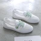 小白鞋女鞋子2020新款夏秋季百搭運動網面透氣運動板鞋潮鞋懶人鞋 「雙10特惠」