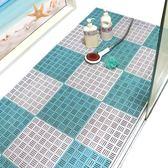 防滑墊 華旭浴室防滑墊淋浴房洗澡腳墊滿鋪裁剪地墊大號衛生間廁所隔水墊 歌莉婭