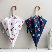 長柄雨傘彎鉤創意韓國小清新直桿森系防風女