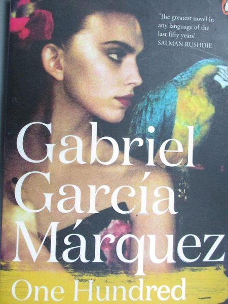 【書寶二手書T1/原文小說_NLQ】One Hundred Years Of Solitude_Gabriel Garcia Marquez