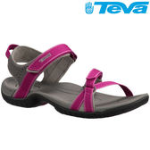 TEVA 《女款》熱銷水陸機能運動涼鞋Verra - 莓紅