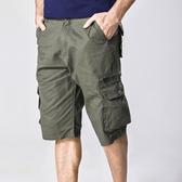 短褲 五分-純棉舒適寬鬆時尚男工裝褲6色73ml60【巴黎精品】