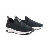 【南紡購物中心】【PUHU彪琥】一片式布面輕量運動鞋-女款黑藍