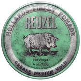 REUZEL豬油髮蠟(綠色)113G