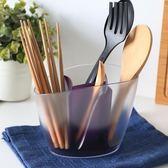 家用筷子筒塑料架子筷子盒筷籠瀝水筷子籠 BF1508【旅行者】
