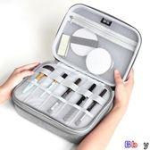 [貝貝居] 化妝箱 大容量 化妝包 多功能 便攜 手提 化妝品 收納盒 旅行箱