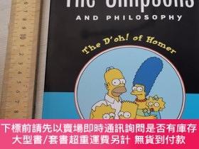 二手書博民逛書店The罕見simpsons and philosophy aspects of philosophy histor