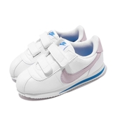 Nike 休閒鞋 Cortez Basic SL TDV 白 粉紅 童鞋 小童鞋 阿甘鞋 運動鞋 【PUMP306】 904769-108