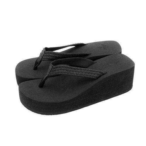 REEF海灘拖鞋 ALLURE NU  黑 RF1558 -- 女