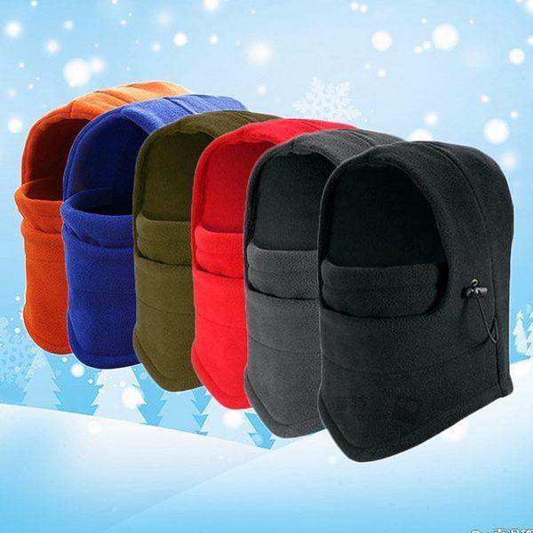 【BK0100】戶外加厚保暖騎行頭套 自行車防風帽抓絨帽 機車防寒CS面罩 全罩式毛帽 單車電動車
