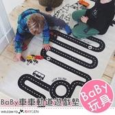 北歐冒險汽車軌道兒童遊戲地毯 地墊 爬行墊