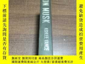 二手書博民逛書店ELON罕見MUSK 精裝 16開本Y353234
