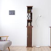 一加一組合【Accessco】日系雙色六格附門厚板收納書櫃﹝胡桃白﹞