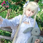 緣之空春日野穹cos服穹妹兔耳洋裝cosplay服裝女裝lolita裙  SMY12562【KIKIKOKO】