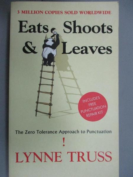 【書寶二手書T6/原文小說_JMD】Eats, Shoots & Leaves_Lynne Truss