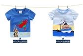 寶寶卡通短袖T恤男 夏裝韓版新款男童童裝兒童上衣 潮tx-7116