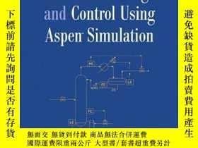 二手書博民逛書店Distillation罕見Design And Control Using Aspen Simulation
