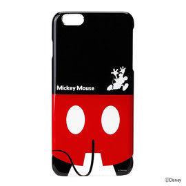 【漢博商城】iJacket Disney iPhone 6 Plus 背影系列硬式保護殼 - 米奇