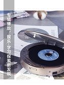 DVD播放器 cd播放機ins復古便攜式藍牙cd機dvd機發燒音樂專輯播放器隨身音響