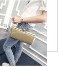 【水晶晚宴包】韓版名媛手拿包 鍊條側背包 燙金宴會包 寶石單肩包