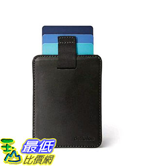 [107美國直購] 錢包 Distil Union Wally Sleeve Genuine Leather Wallet, Money Clip, Credit Card Holder