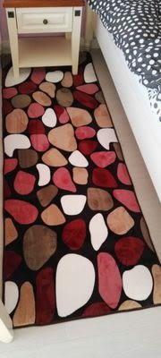 時尚創意地墊17 廚房浴室衛生間臥室床邊門廳 吸水長條防滑地毯(60cm*120cm)