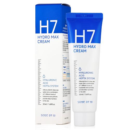 韓國 SOME BY MI H7嫩白補水面霜 50ml【新高橋藥妝】嬰兒面霜 保濕/效期:2021.05