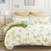 【金‧安德森】精梳棉《春語》兩用被床包四件組 (標準雙人)