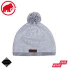 【MAMMUT 長毛象 Snow Beanie 針織保暖毛帽《公路灰/白》】1191-01120/保暖帽/針織帽