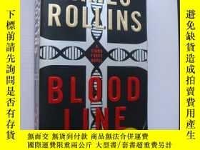 二手書博民逛書店BLOOD罕見LINE (A sigma force novel