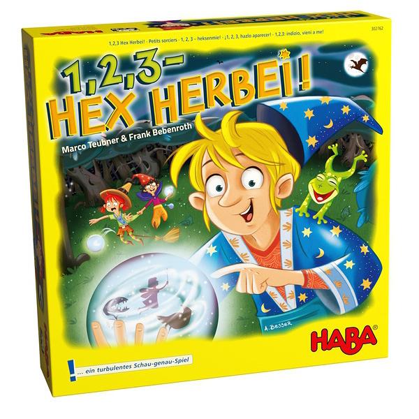 【HABA 德國桌遊】魔法學徒1,2,3-HEX HERBEI!(得獎作品)