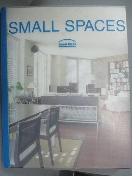 【書寶二手書T5/設計_QLE】Small Spaces_PAREDES, CRISTINA