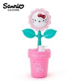 【日本正版】凱蒂貓 盆栽造型 聲動存錢筒 儲錢筒 擺飾 小費箱 Hello Kitty 三麗鷗 Sanrio - 864081