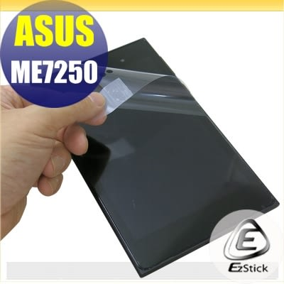 【Ezstick】ASUS Zenpad Oranginal M7250 靜電式平板LCD液晶螢幕貼(可選鏡面或霧面)