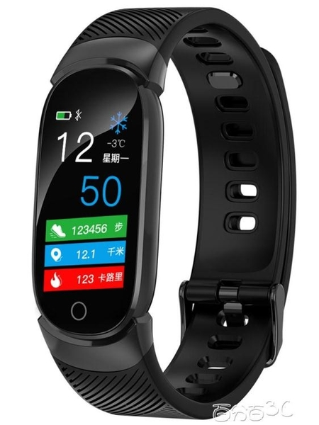 智慧手錶 彩屏運動智慧手環男量手錶蘋果oppo華為vivo小米通用 百分百