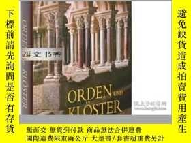 二手書博民逛書店Monasteries罕見and Monastic Orders