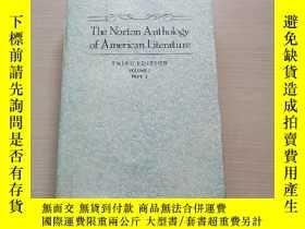 二手書博民逛書店THE罕見NORTON ANTHOLOGY OF AMERICAN LITERATURE (THIRD EDITI