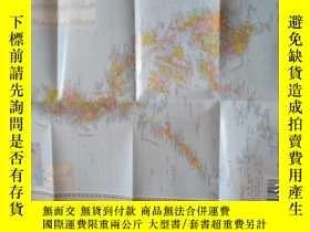 二手書博民逛書店罕見【世界分國地圖】《菲律賓》彩圖,中英文對照,非常實用!Y39