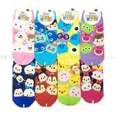 【KP】22-26cm 成人襪 卡通襪 Disney 迪士尼 TsumTsum 疊疊樂 米奇米妮 小熊維尼 直版襪 襪子