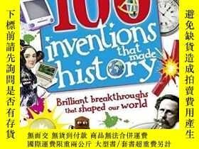 二手書博民逛書店100項創造歷史的發明罕見英文原版 100 Inventions