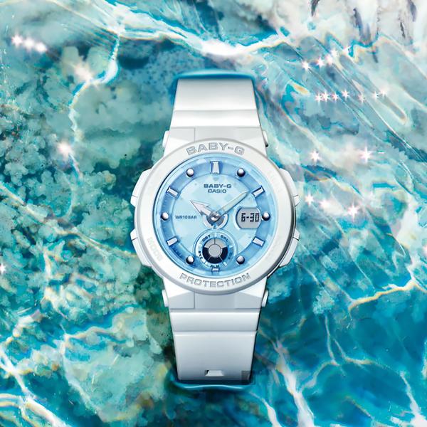 CASIO 卡西歐 BABY-G 海洋霓虹手錶 BGA-250-7A1 / BGA-250-7A1DR